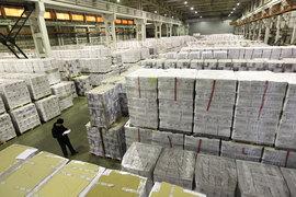 В прошлом году многие компании арендовали новые склады в связи с ростом бизнеса