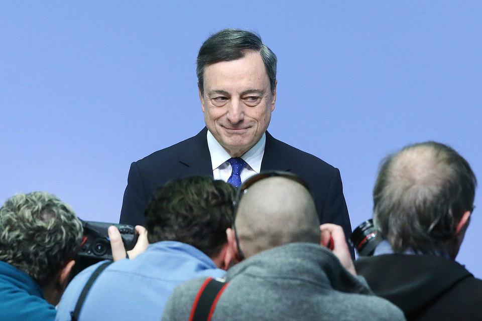 Президент ЕЦБ Драги заявил, что вряд ли потребуется сильнее снижать процентные ставки