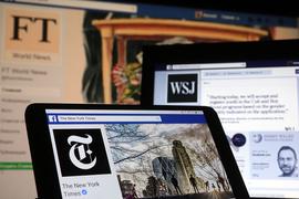 Треть американцев читает новости в социальных сетях