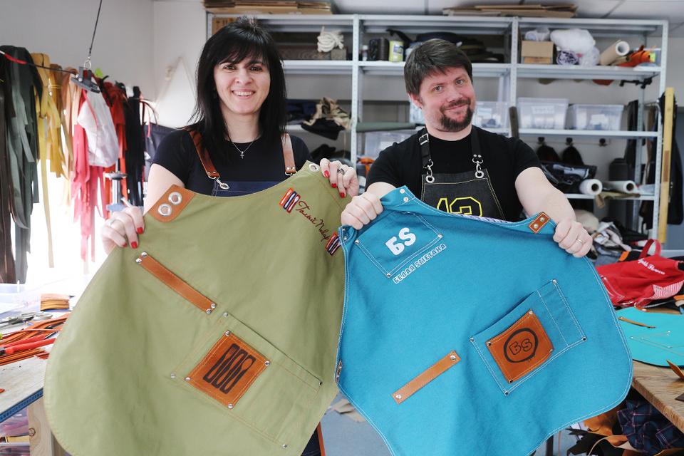 Бизнес Никиты и Валентины Петровых начался со случайной продажи трех фартуков через Instagram