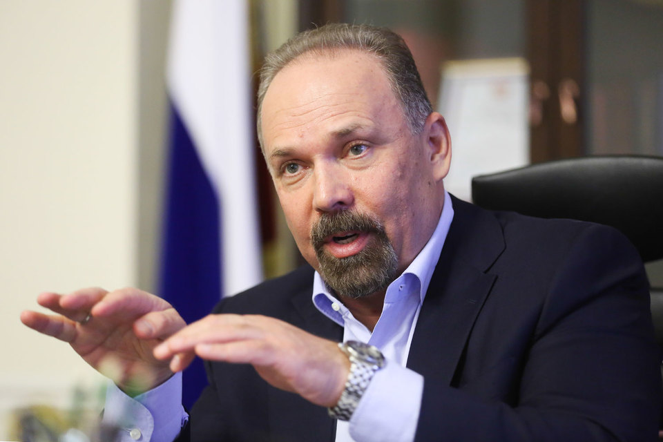 Михаил Мень, министр строительства и ЖКХ России