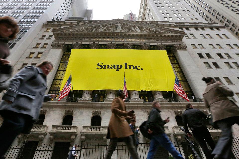 Компания Snap, недавно проведшая успешное IPO на Нью-йоркской фондовой бирже (NYSE), занимает всего 1,3% рекламного рынка США