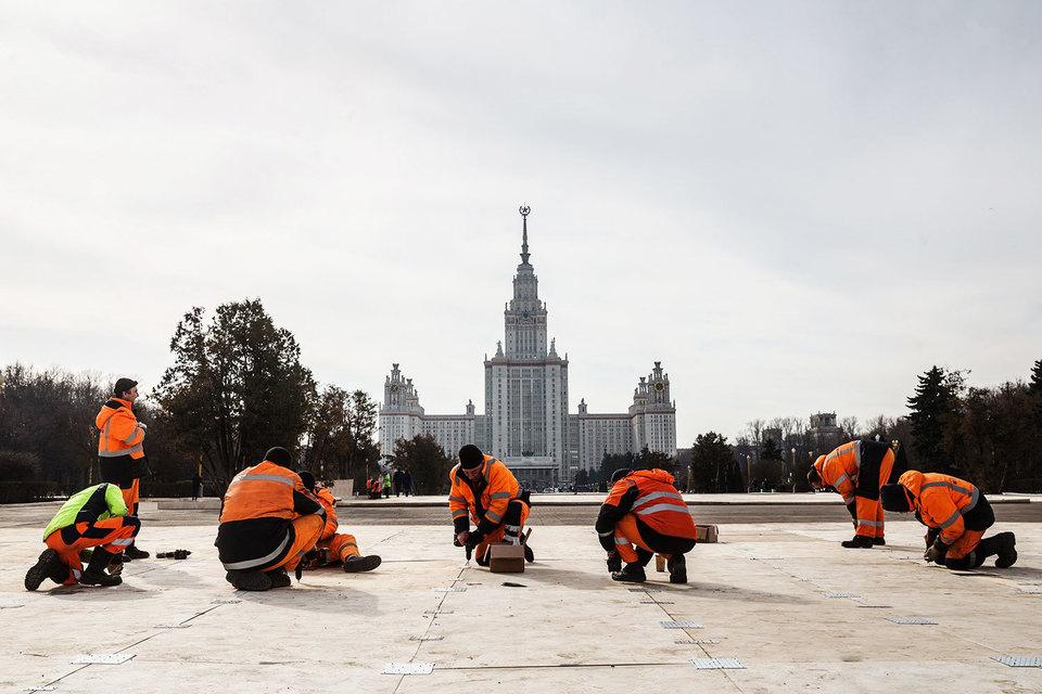Главные крымские торжества пройдут в Москве у главного здания МГУ