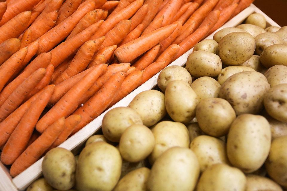 В России упали продажи большинства основных продуктов питания, обнаружили исследователи, лучше продавались только подешевевшие российские овощи