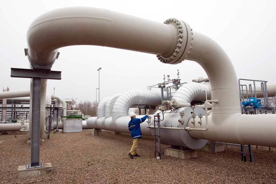 Газ мигрирует из крупнейшего подземного хранилища газа в Европе