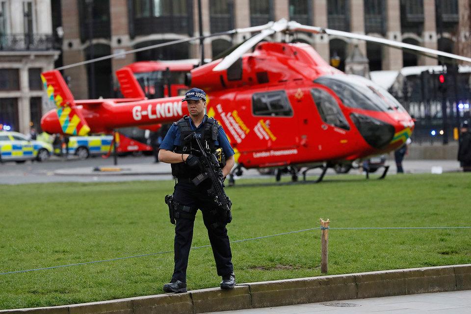 Полиция считает происшедшее терактом