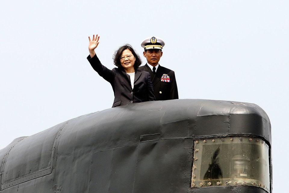 Президент Тайваня Цай Инвэнь сообщила о начале строительства подводных лодок