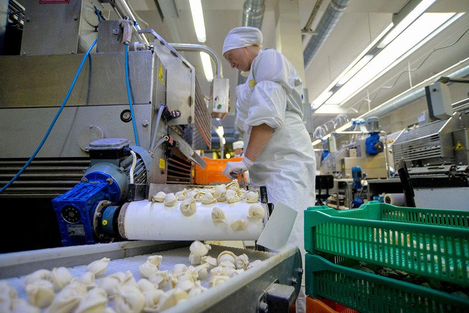 ООО «Равиоли» выпускает замороженные изделия (пельмени, вареники, блинчики, котлеты)