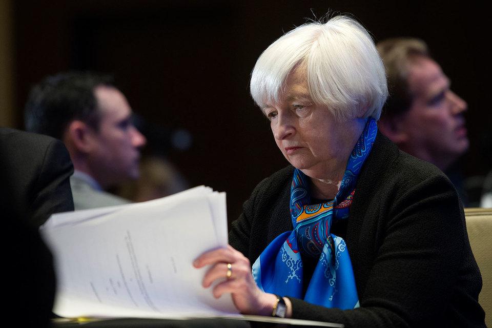 Председатель ФРС Джанет Йеллен