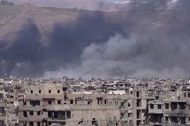 Боевики бывшей «Джебхат ан-Нусры» (запрещена в России), к которым затем присоединились и некоторые представленные в Астане группировки, атаковали столицу Сирии Дамаск (на фото)