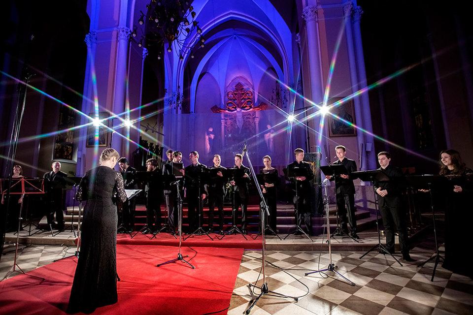 Ансамбль Intrada звучал в соборе прекрасно