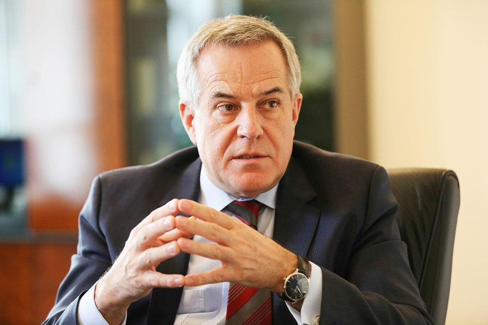 Зигфрид Вольф, председатель совета директоров и совладелец «Русских машин»
