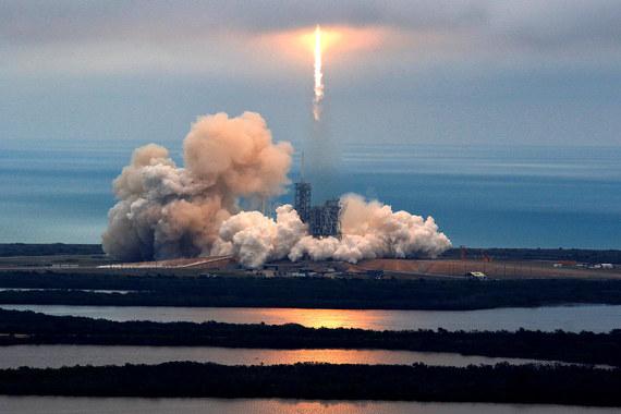 normal 1ct6 SpaceX Илона Маска в четверг попытается сотворить историю