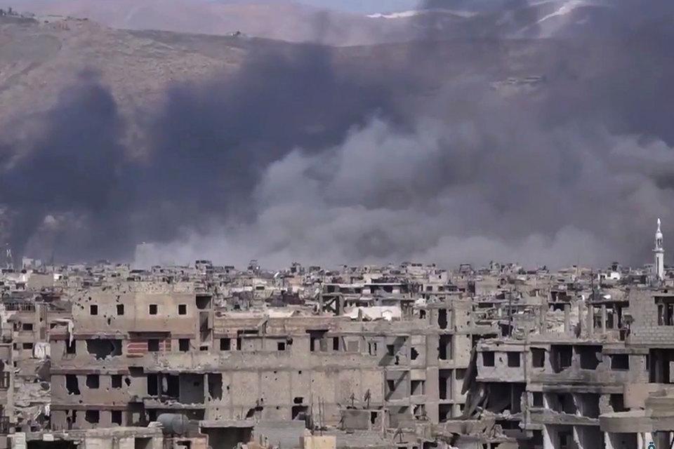 Наступление исламистов против сирийских правительственных сил в районе Дамаска и Хамы удалось остановить