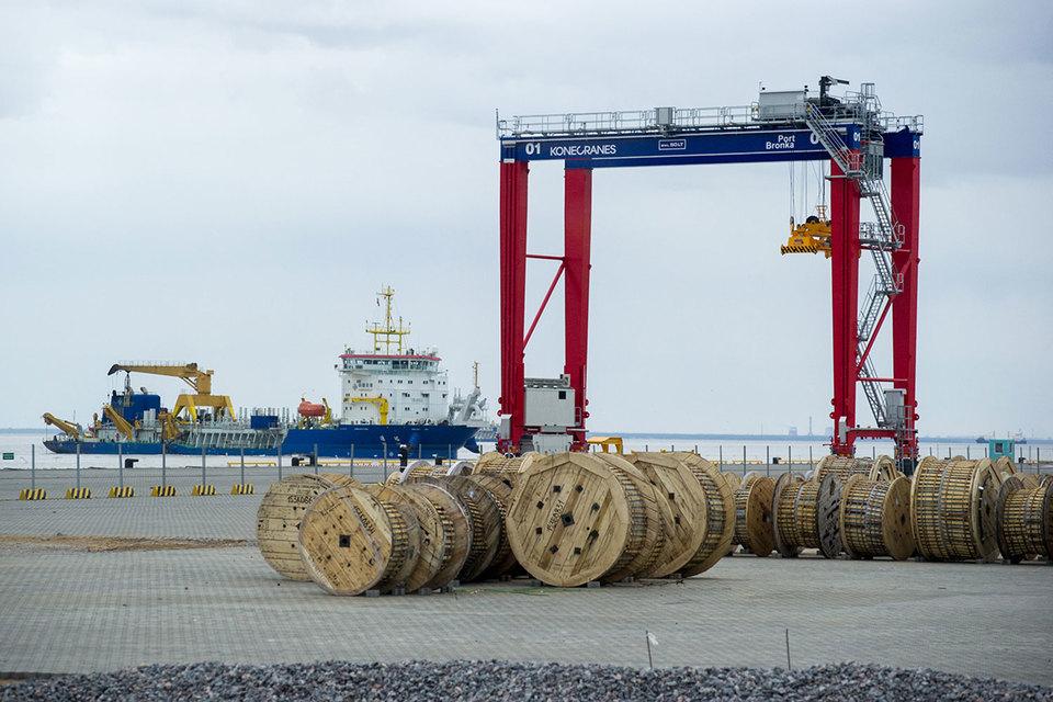 Мощности порта Бронка загружены меньше чем на 10%