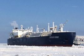 Порт Сабетта принял первый танкер-газовоз