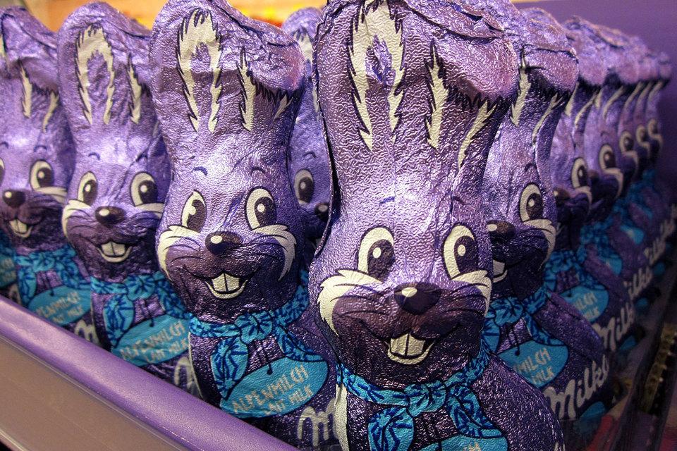 Размер продаваемых в Великобритании шоколадных батончиков и упаковок конфет может уменьшиться