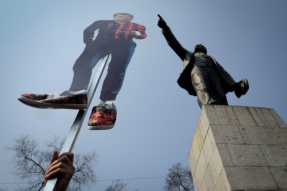 Владивосток 26 марта стал одним из лидеров по количеству протестующих