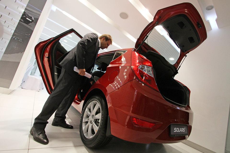 Покупателям нравится новая модель Hyundai