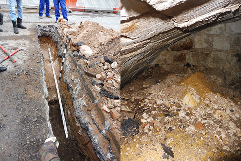 В центре Москвы под землей обнаружили тайную слуховую комнату