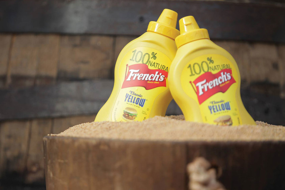 Наиболее известный продовольственный бренд Reckitt Benckiser – горчица French's
