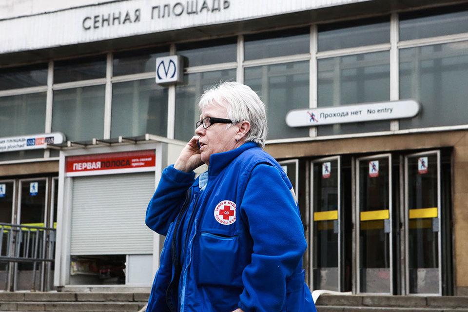 Сразу после взрыва на вход и выход были закрыты станции «Парк Победы», «Электросила», «Московские ворота», «Фрунзенская», «Технологический институт», «Сенная площадь», «Гостиный двор»