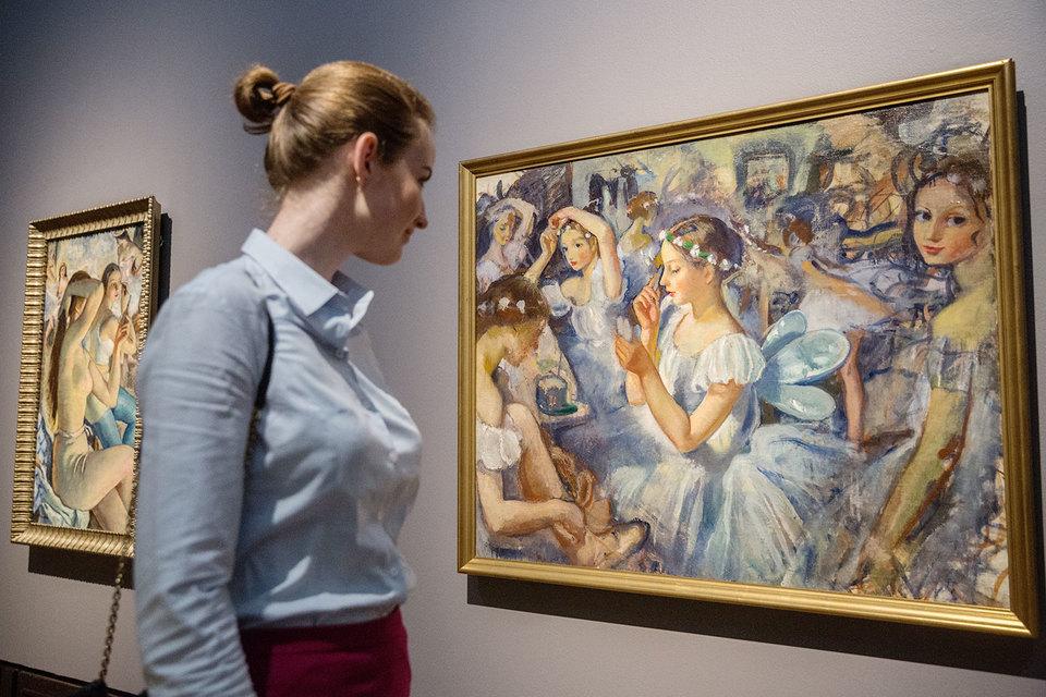 На полотнах Зинаиды Серебряковой нет ничего уродливого или трагического