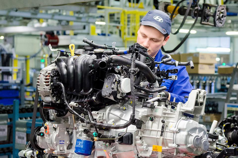 Hyundai хочет выпускать двигатели в России
