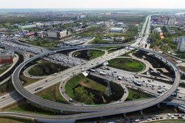 Среди проектов АРКС – строительство развязки на пересечении Каширского шоссе и МКАД