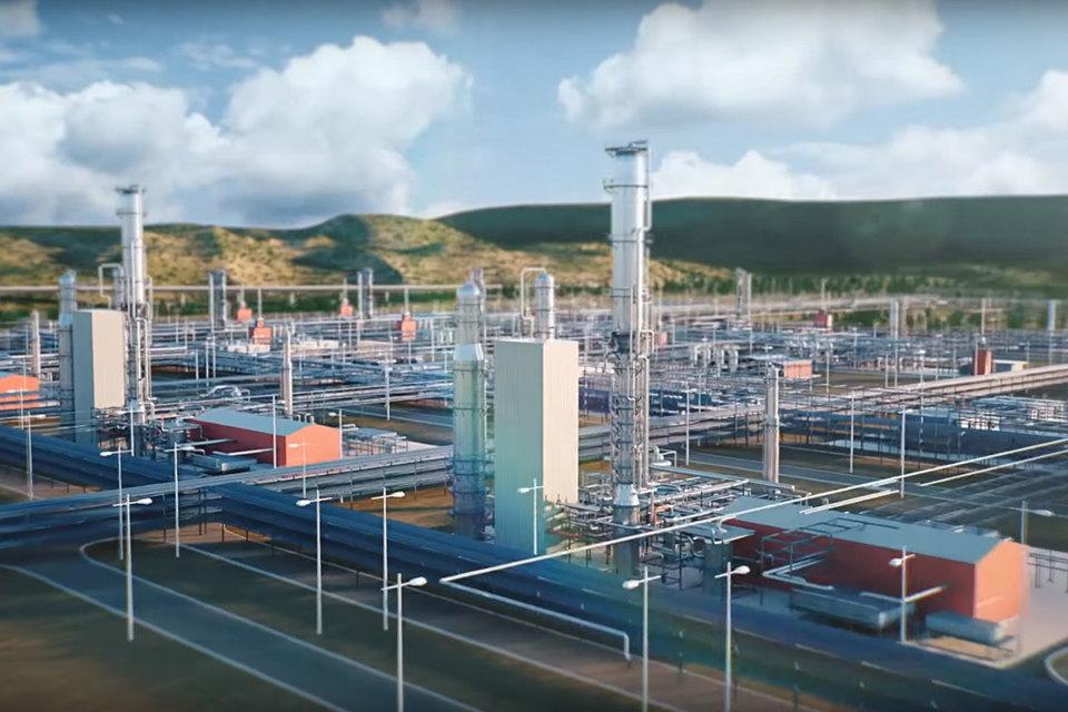 Проект Амурского газоперерабатывающего завода