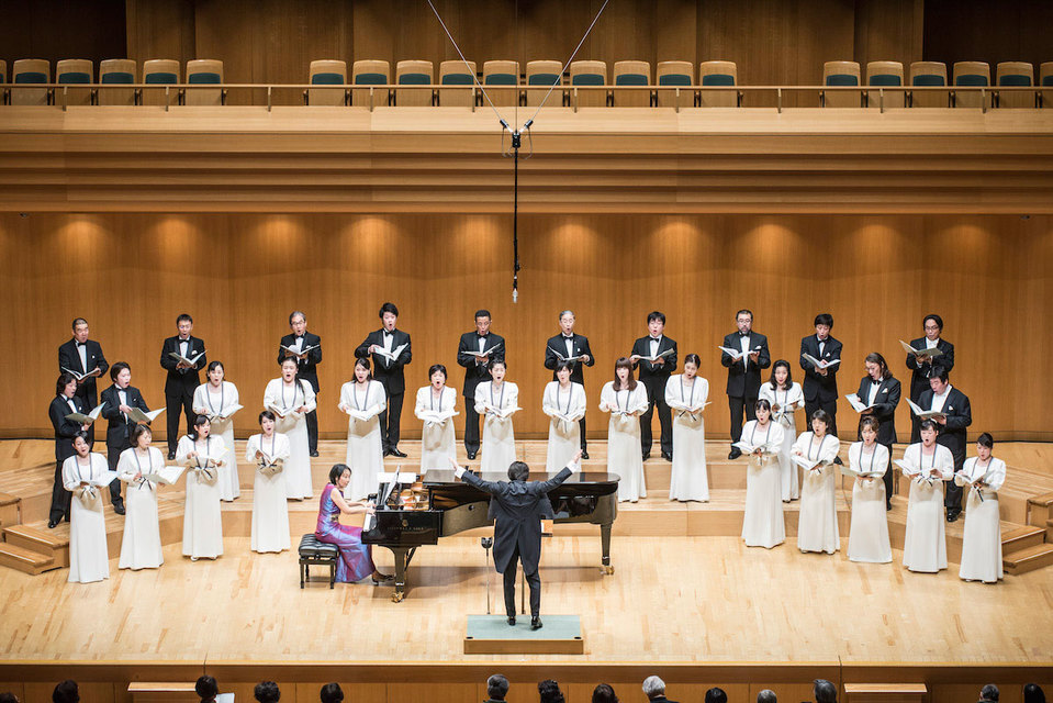 Филармонический хор Токио под руководством дирижера Кадзуки Ямады дебютировал в России с большим успехом