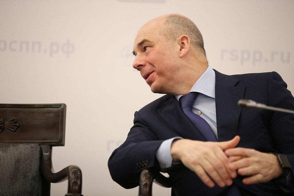 Министр финансов Антон Силуанов предлагает бюджетным лоббистам надавить на госкомпании