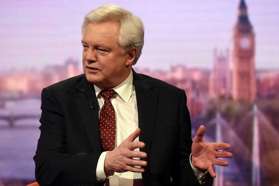 Дэвид Дэвис, министр по выходу Великобритании из Европейского союза