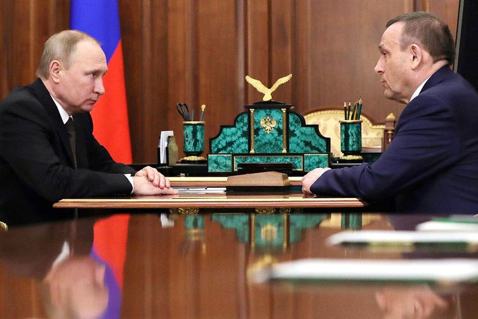 Путин назначил нового главу Марий Эл