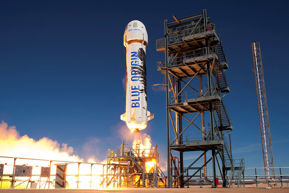 Blue Origin планирует возить в космос туристов