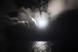 США выпустили по авиабазе в Сирии 59 ракет