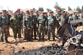 Сирийские и российские военные считают, что большого ущерба удар США не нанес