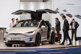 Котировки Tesla продолжают поддерживать данные о росте поставок