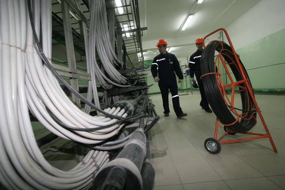 МГТС использует медный кабель для прокладки линий связи внутри домов и кварталов