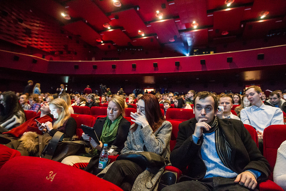 В I квартале 2017 г. касса российских фильмов выросла на 35% год к году, а число посмотревших их зрителей – на треть до 20,1 млн.