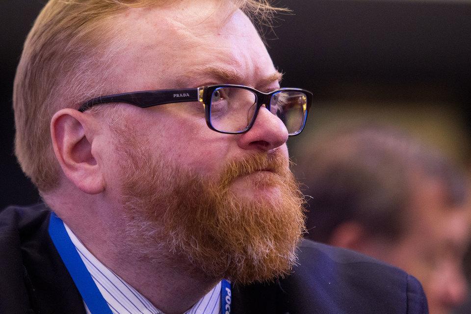 Милонов предложил регистрацию в социальных сетях с помощью документа, удостоверяющего личность