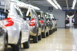 Продажи новых легковых и легких коммерческих автомобилей в России пошли вверх