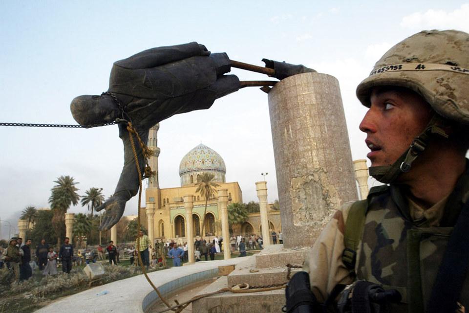 Ситуация напомнила президенту события 2003 года в Ираке