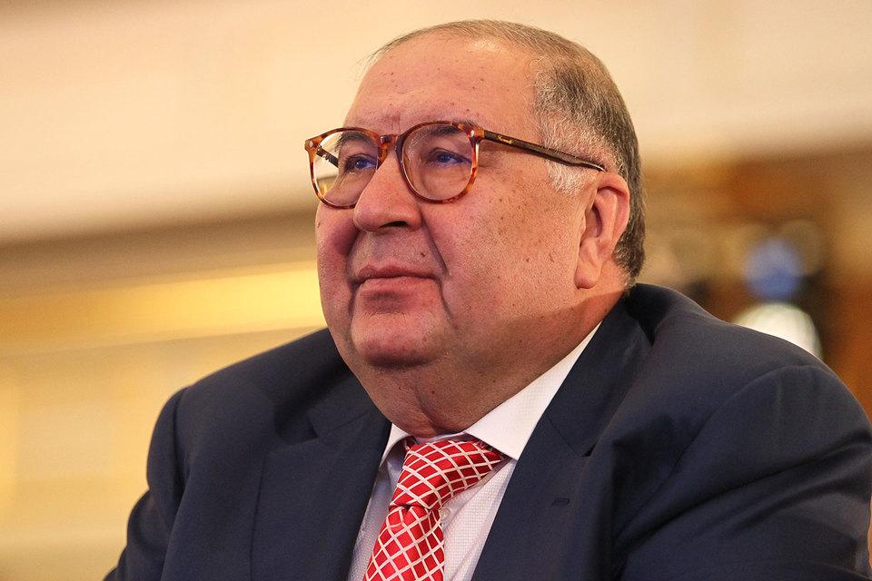 Основатель USM Holdings Алишер Усманов