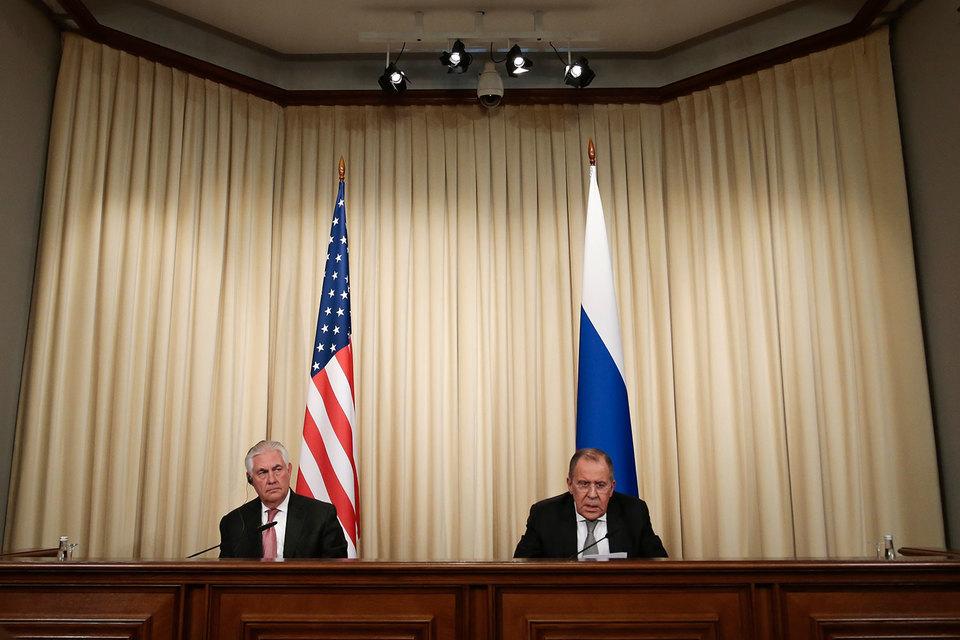 Долгожданный визит в Москву госсекретаря США Рекса Тиллерсона завершился без скандалов, но и без прорывов