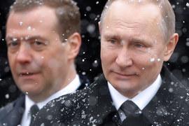 Путин заработал больше Медведева в 2016 г.