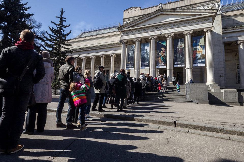 М.Лошак: Пушкинский музей двигается «всторону живого искусства»