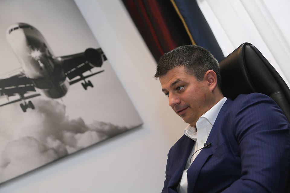Председатель совета директоров Avia Solutions Group Гедиминас Жемялис