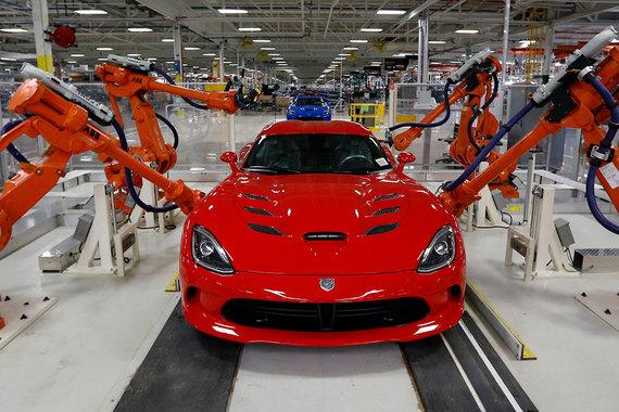 Заводы США заполонили иностранные роботы