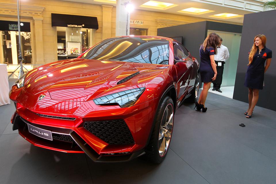 Российские граждане сделали предзаказ на40 кроссоверов Lamborghini Urus